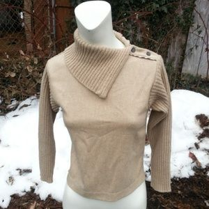 Burberry 3/4 sleeve pullover top/sweater XS EUC